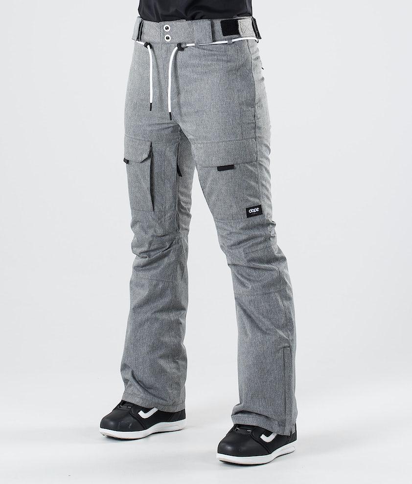 Dope Grace Snow Pants Grey Melange