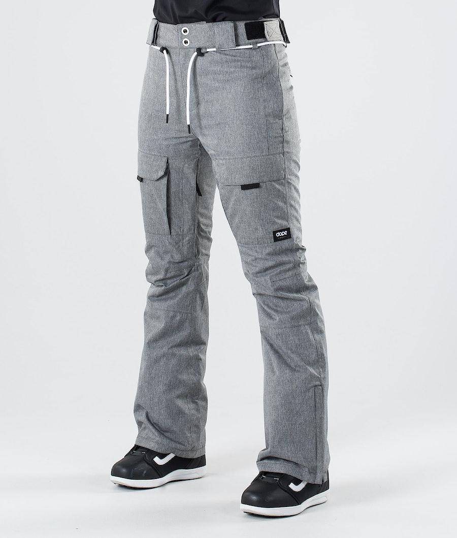 Dope Grace Sneeuw broek Grey Melange