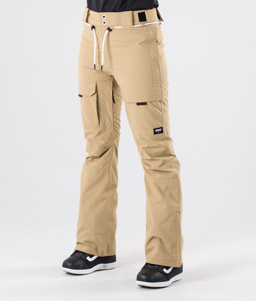 Dope Grace Pantalon de Snowboard Khaki