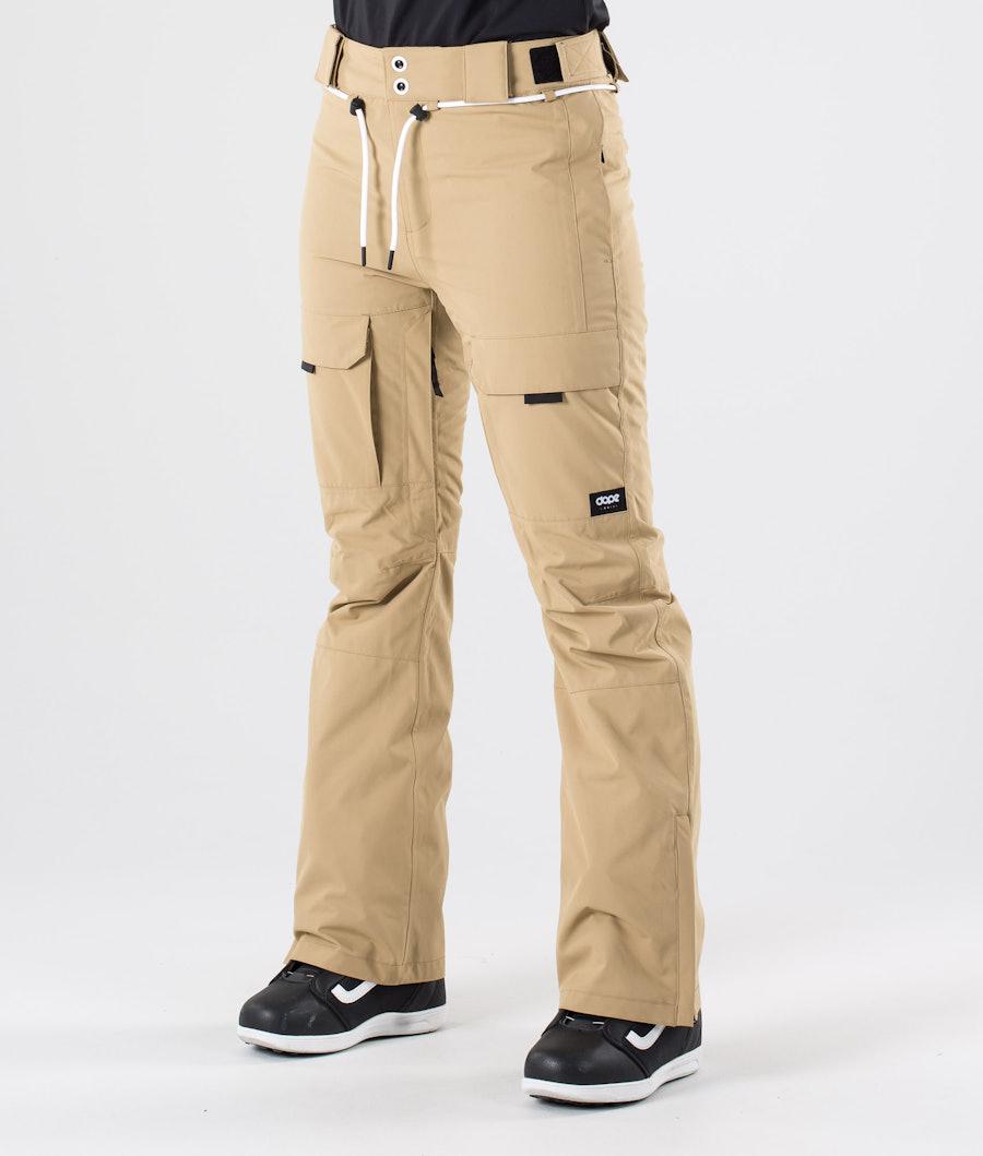 Dope Grace Sneeuw broek Khaki