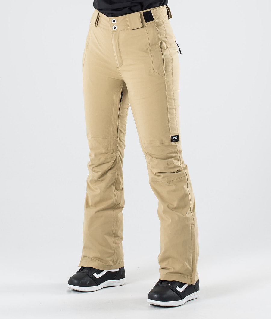 Dope Con Snow Pants Khaki