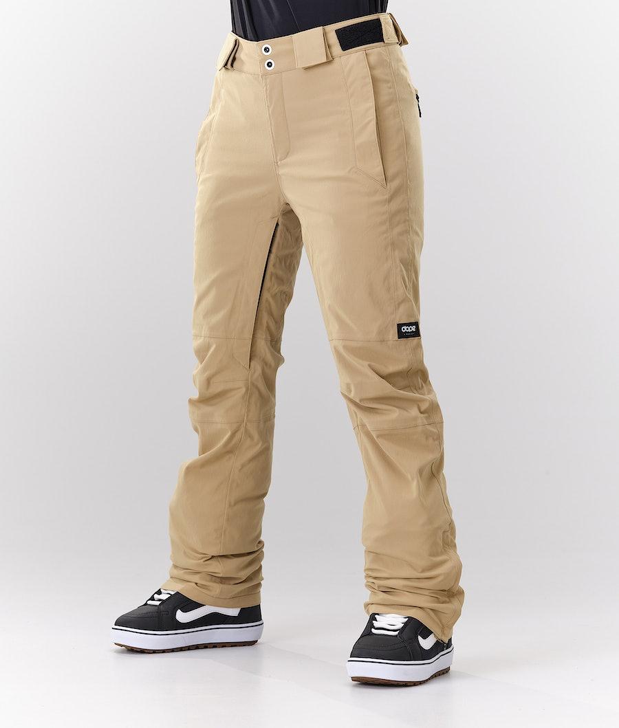 Dope Con Pantaloni da Snowboard Khaki