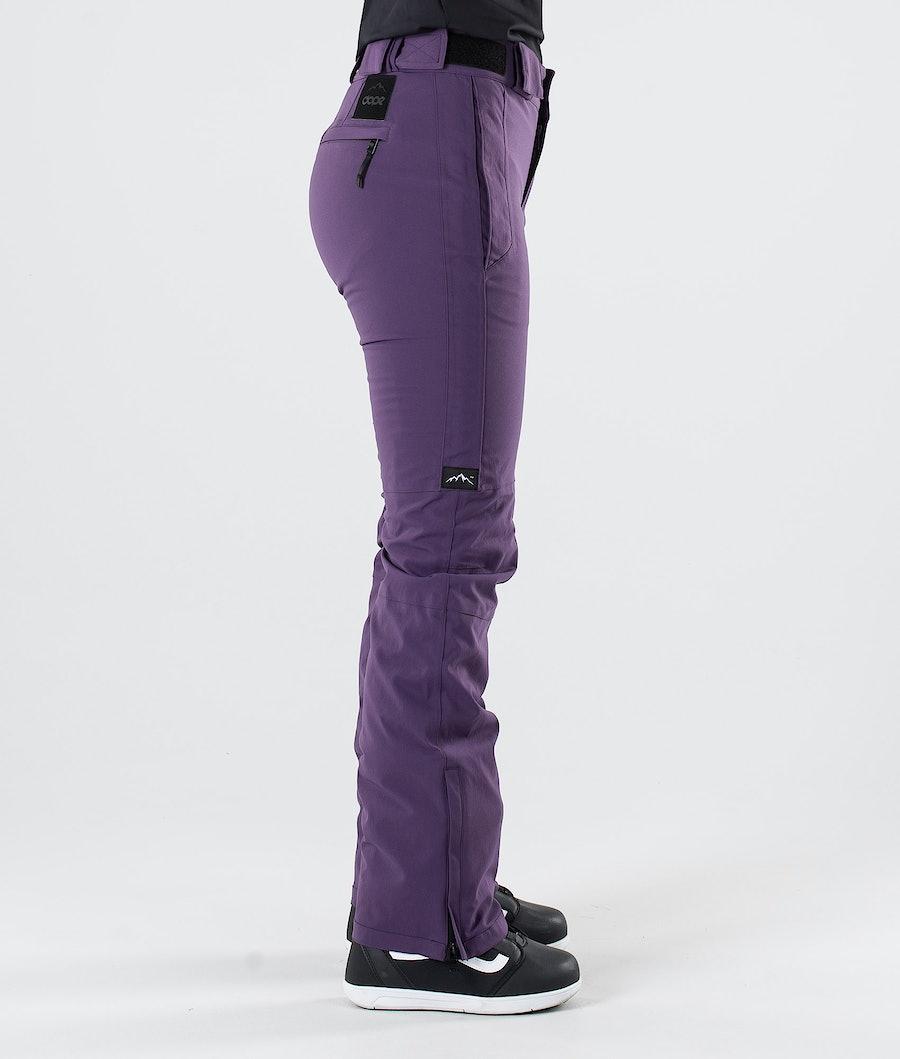 Dope Con Pantaloni da Snowboard Donna Grape