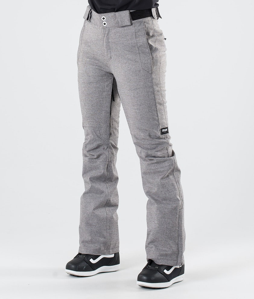 Dope Con Pantalon de Snowboard Grey Melange
