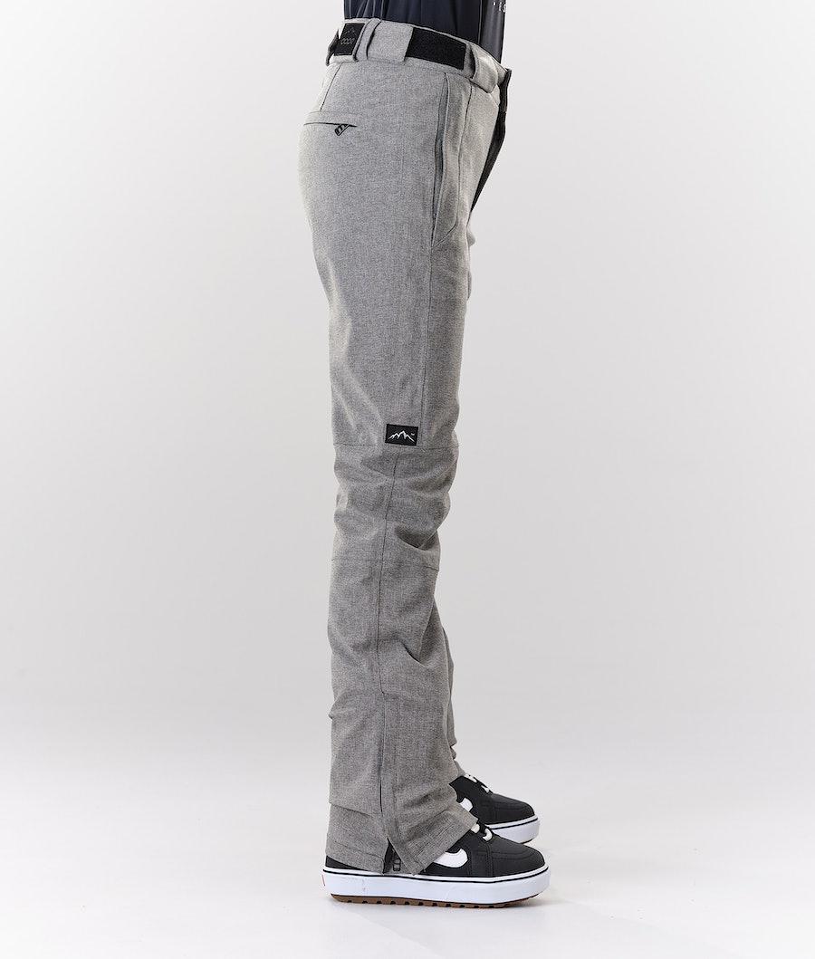 Dope Con Pantaloni da Snowboard Donna Grey Melange