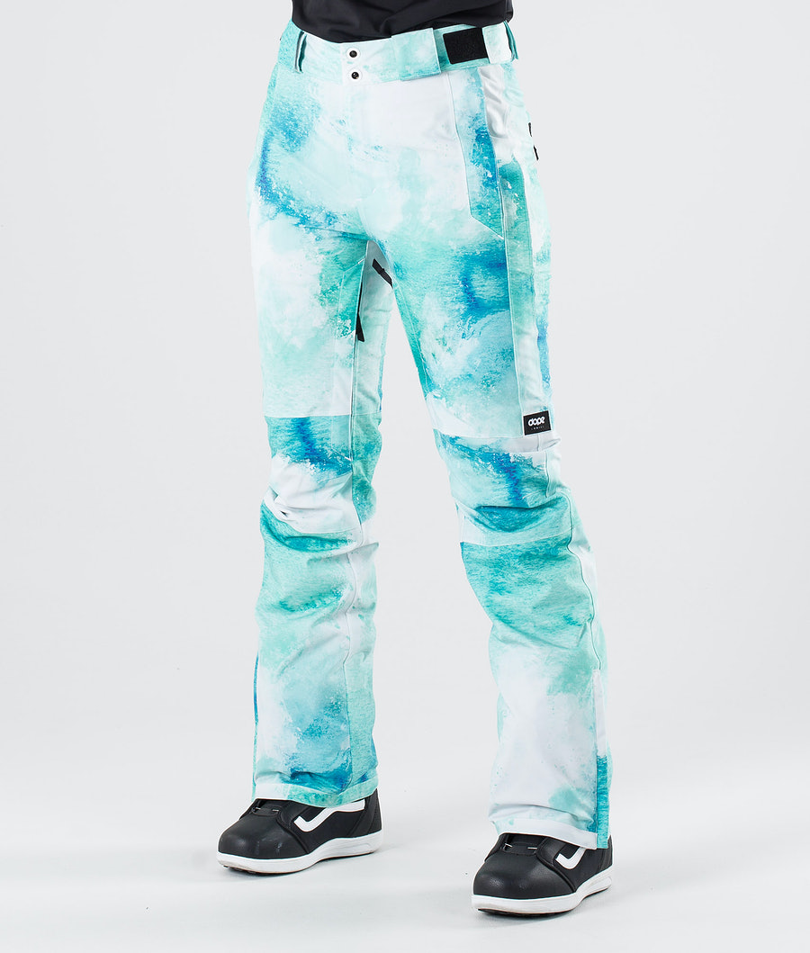 Dope Con Snow Pants Water White