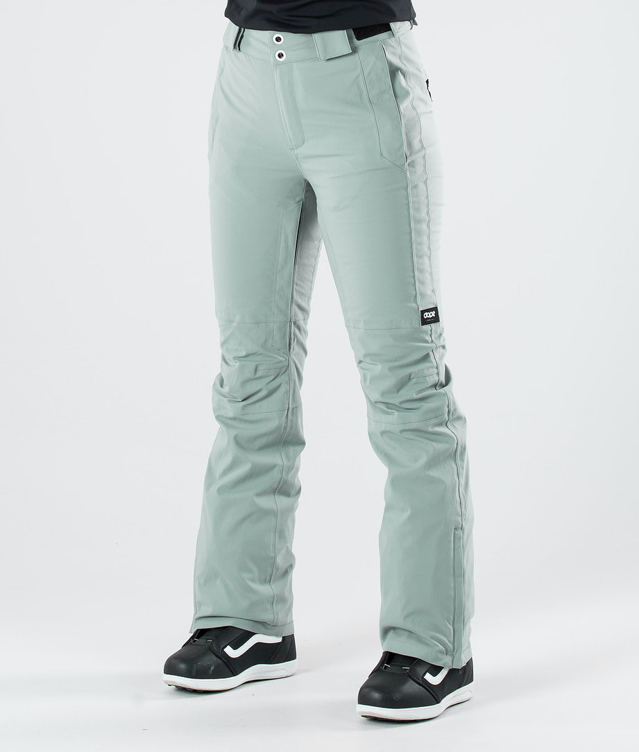 Dope Con Snow Pants Faded Green