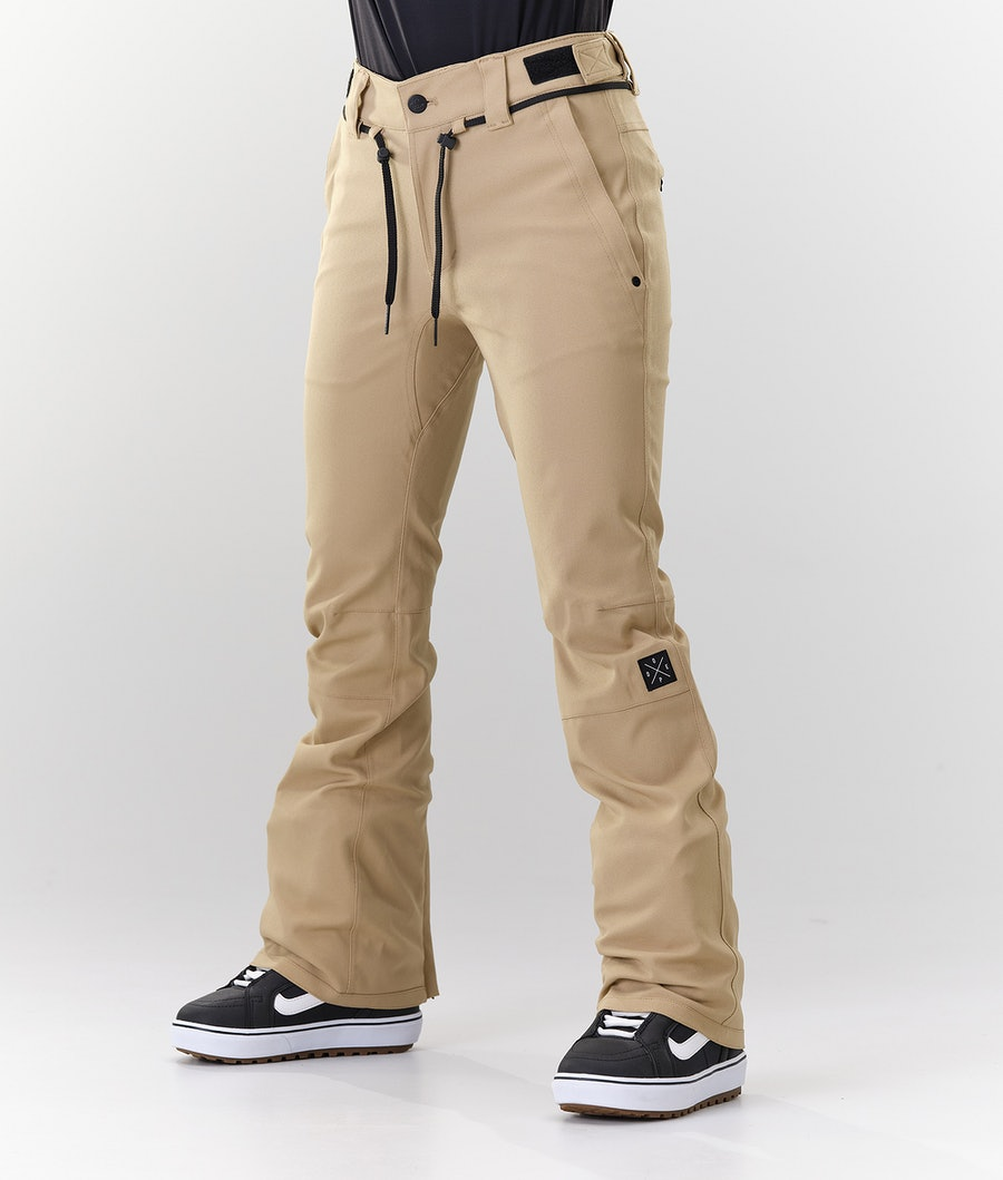 Dope Tigress Lumilautailuhousut Khaki