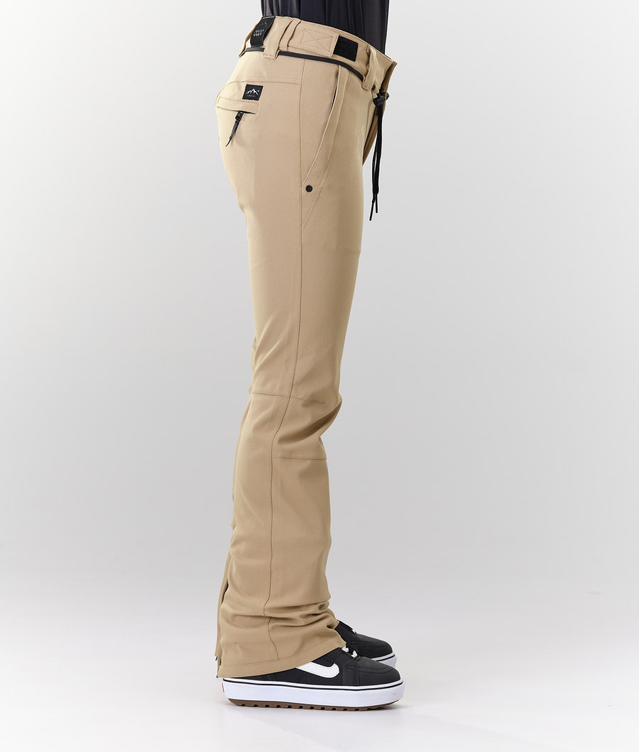 Dope Tigress Women's Snowboard Pants Khaki