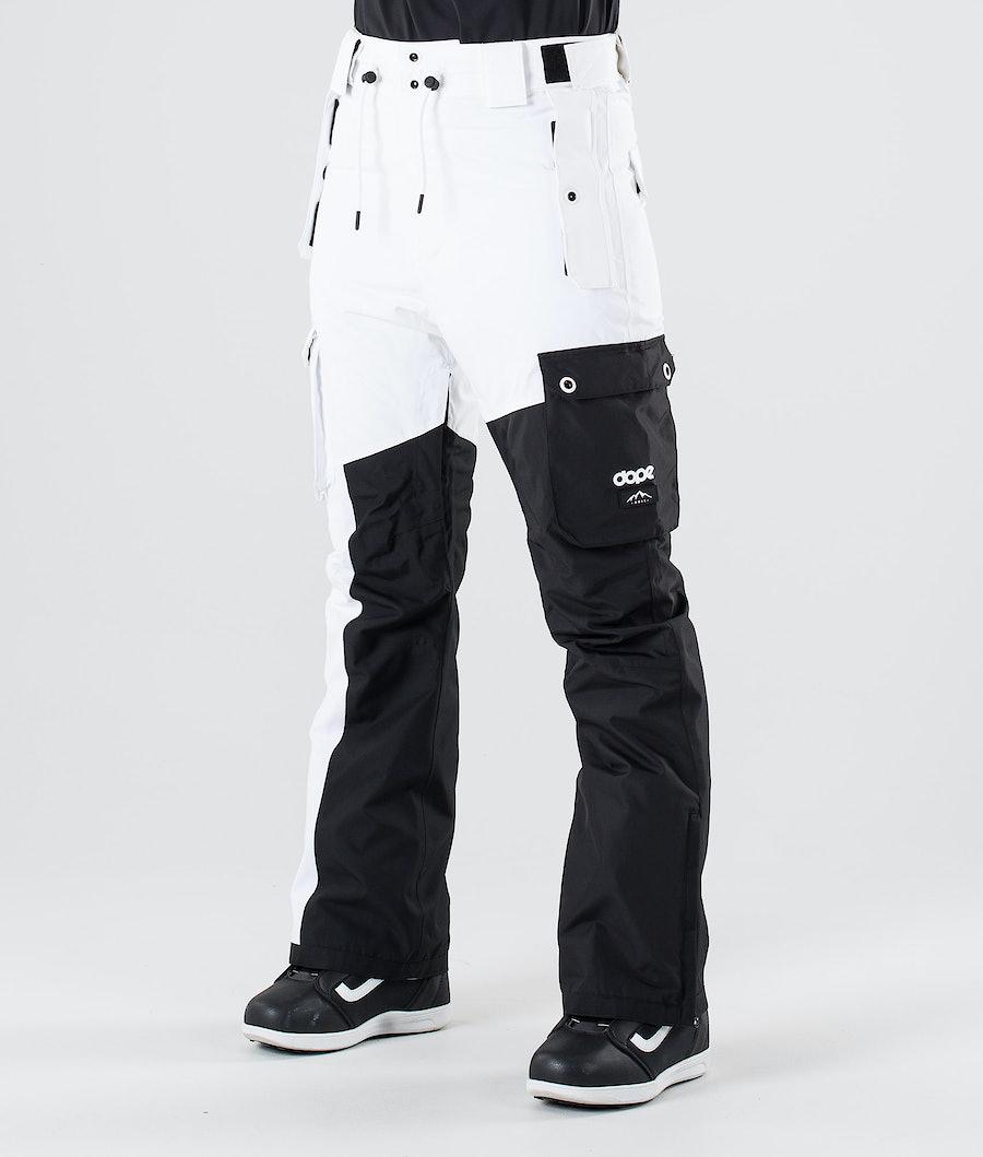 Dope Adept W Snowboardbukse Black/White