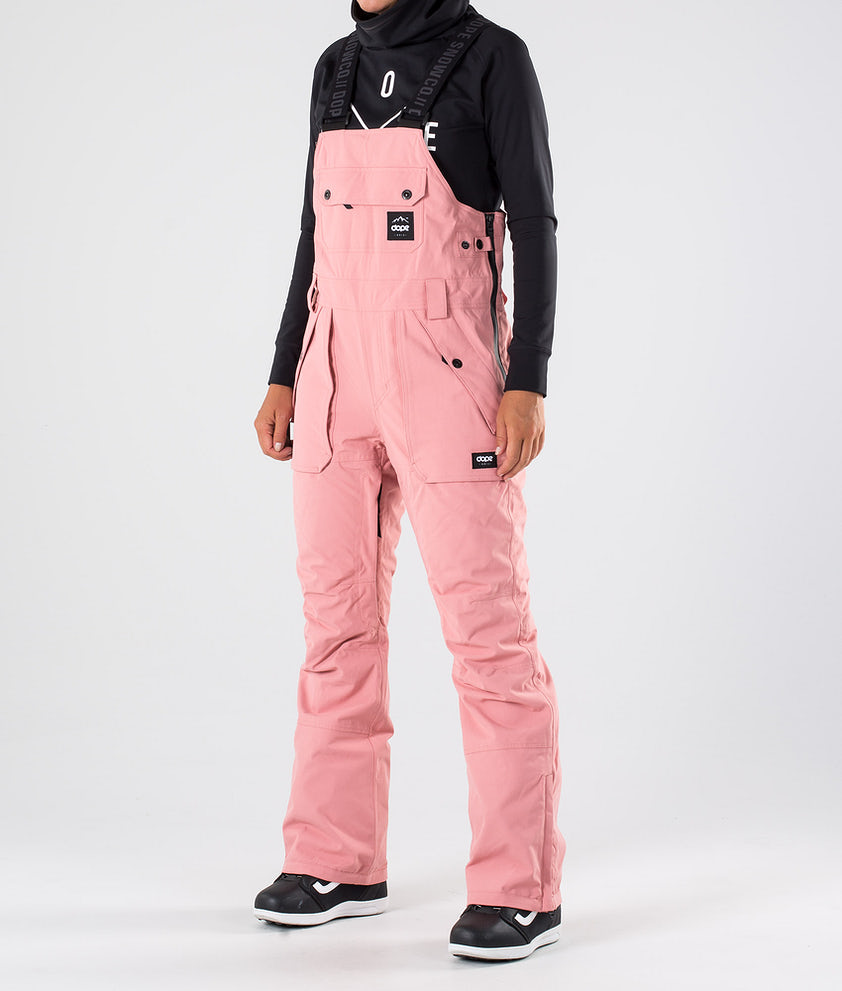 Dope Notorious BIB W Snowboardbukse Pink