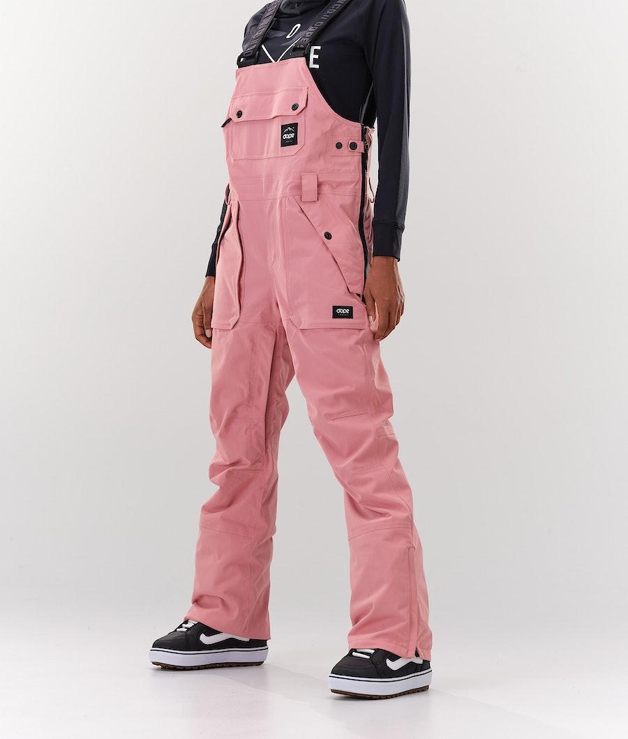 Dope Notorious BIB W Snowboard Broek Pink