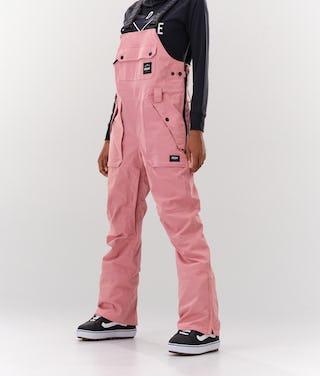 Dope Notorious Bib W Pantalones Snowboard Pink Ridestore Com