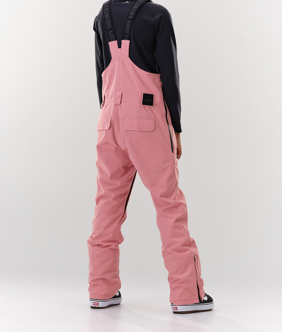 Dope Notorious BIB W Pantaloni da Snowboard Donna Pink