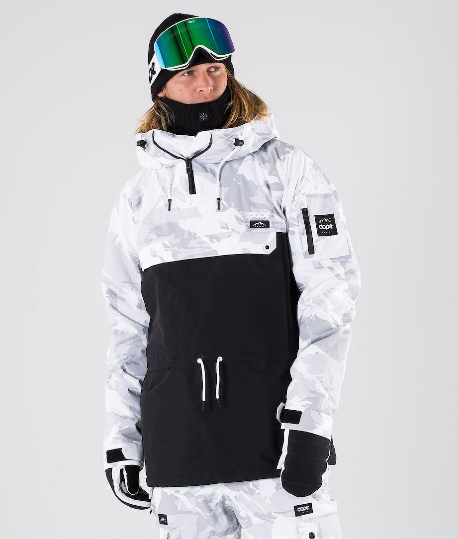 Dope Annok Snowboard Jacket Tux Camo/Black