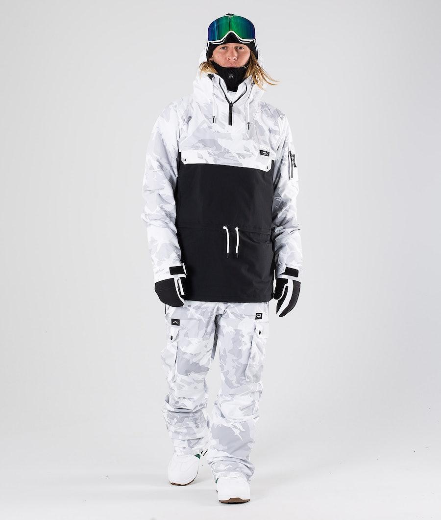Dope Annok Giacca da Snowboard Tux Camo/Black