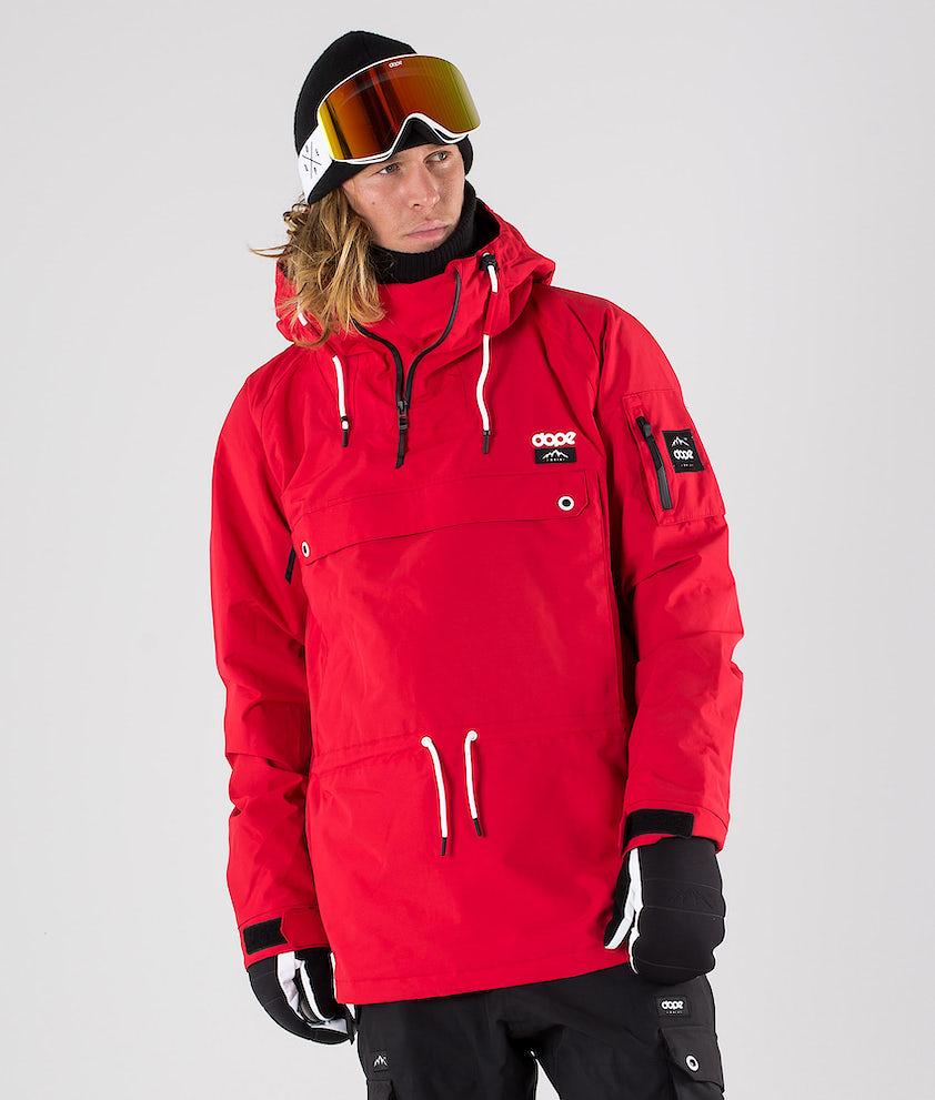 Dope Annok Giacca da snowboard Red