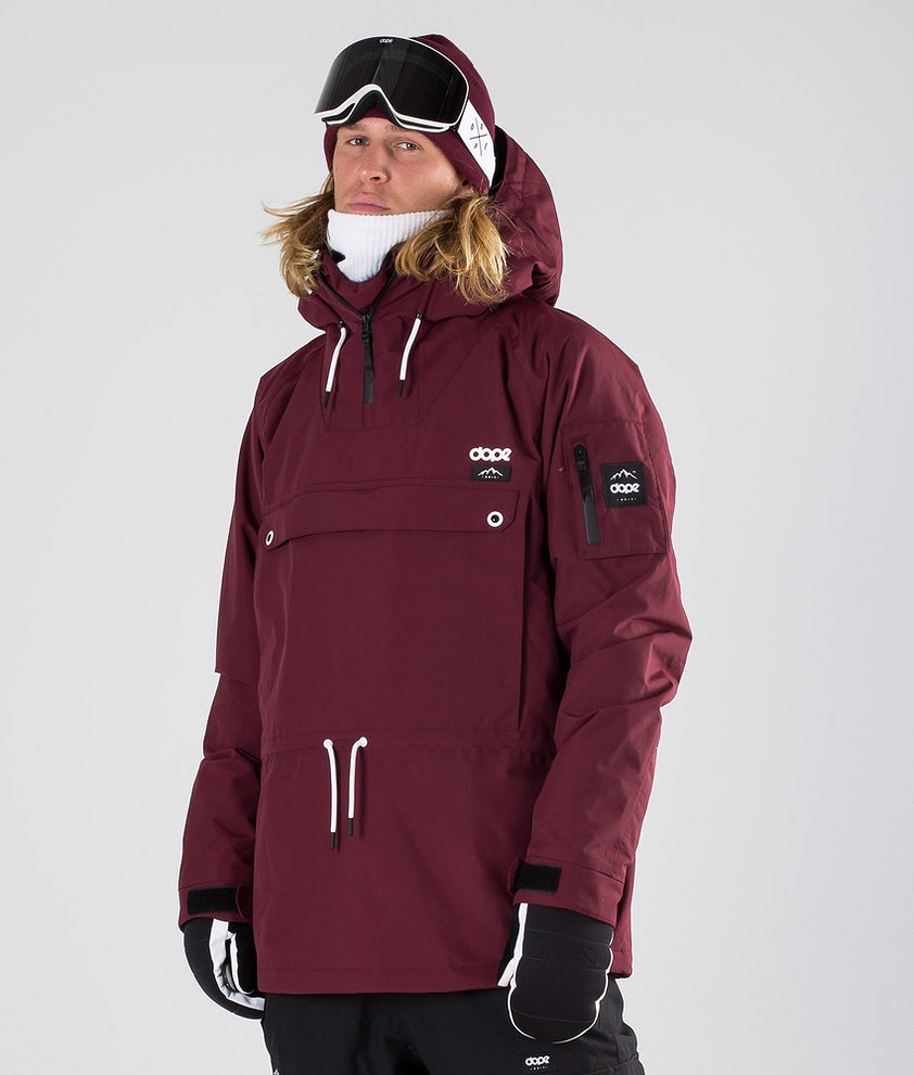 Dope Annok Snowboard Jacket Burgundy