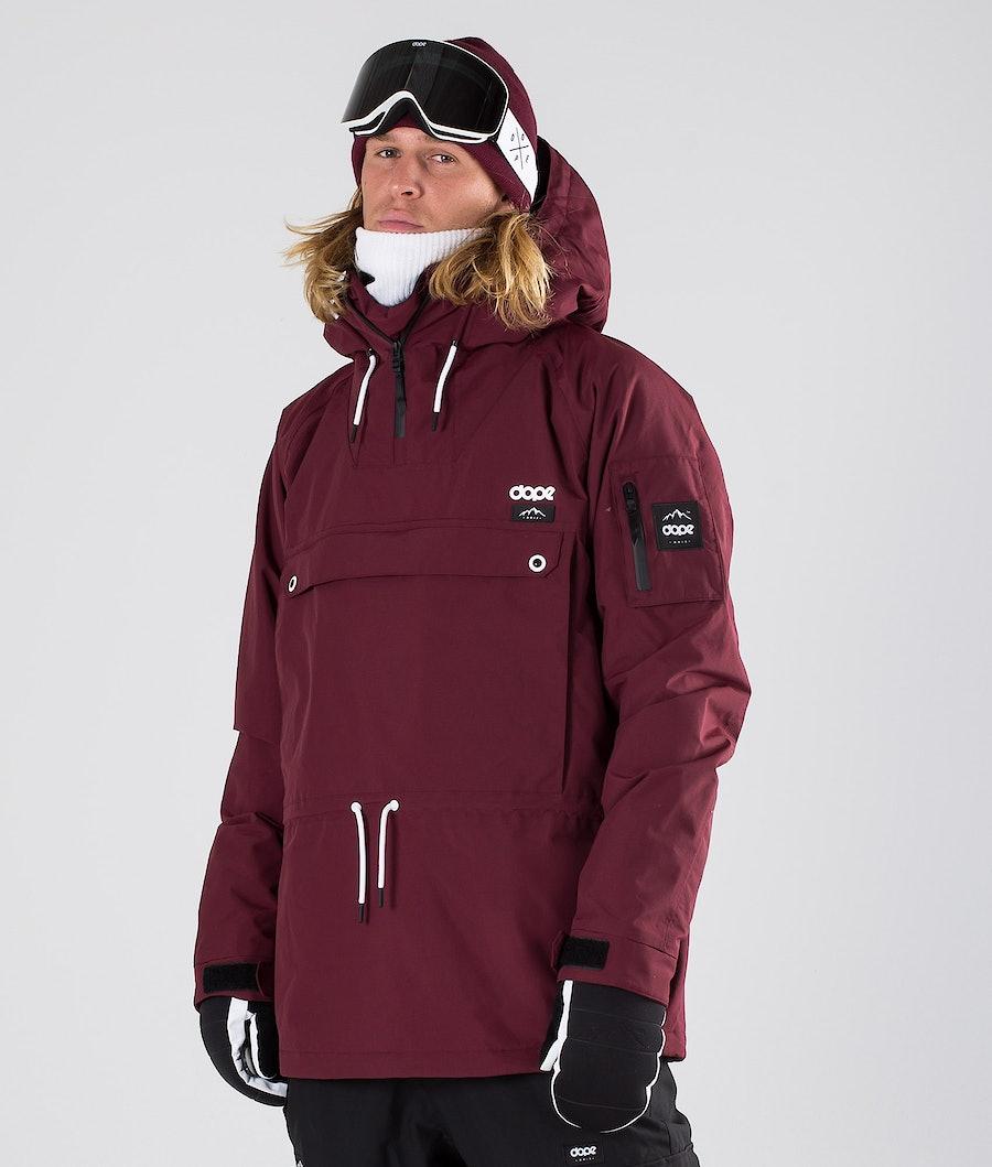 Dope Annok Snowboardjakke Burgundy