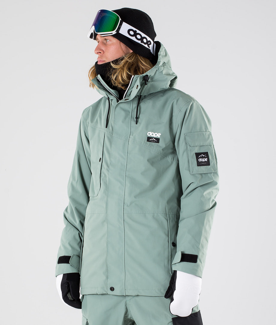 Dope Adept Snowboardjacke Faded Green