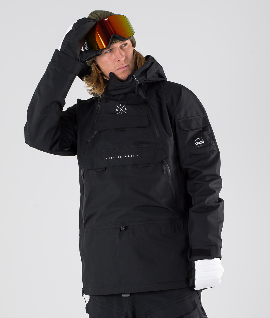 Dope Akin Snowboardjacke Black