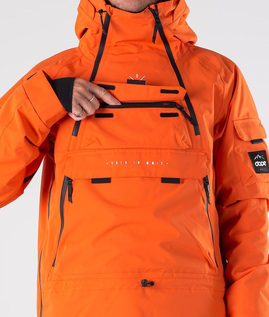 Dope Akin Giacca da Snowboard Orange