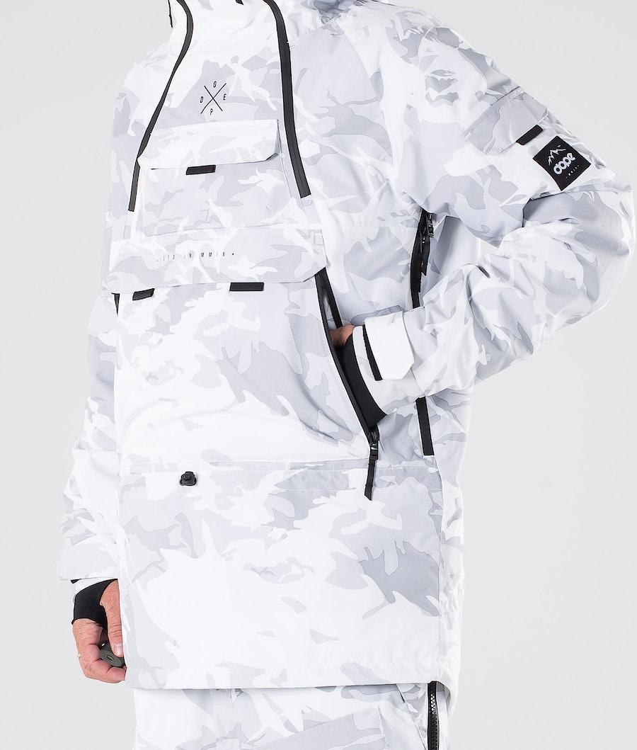 Dope Akin Snowboard Jacket Tux Camo