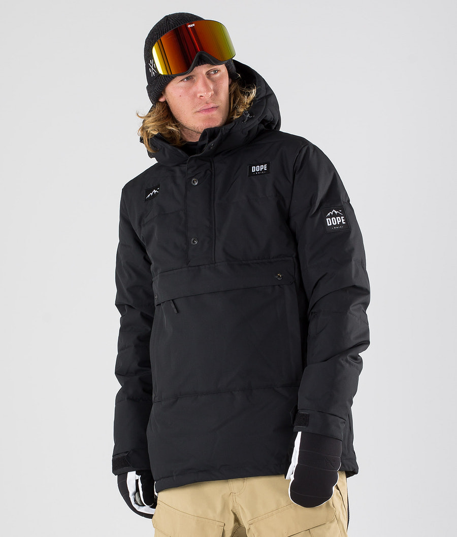 Dope Puffer Snowboardjacke Black