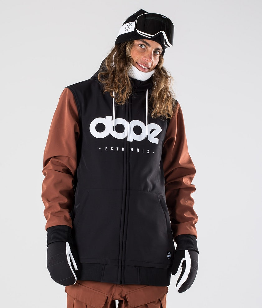 Dope Standard DO Snowboardjacka Black/Adobe