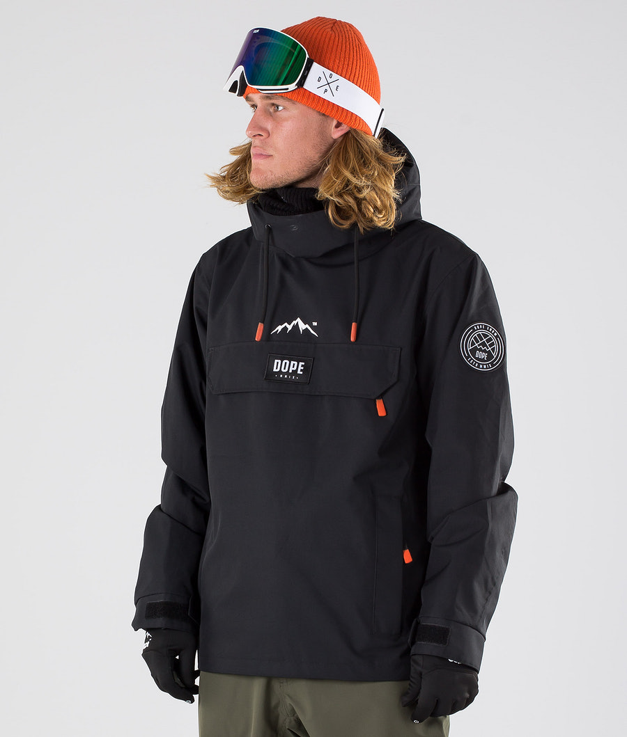 Dope Blizzard Snowboard Jacket Black
