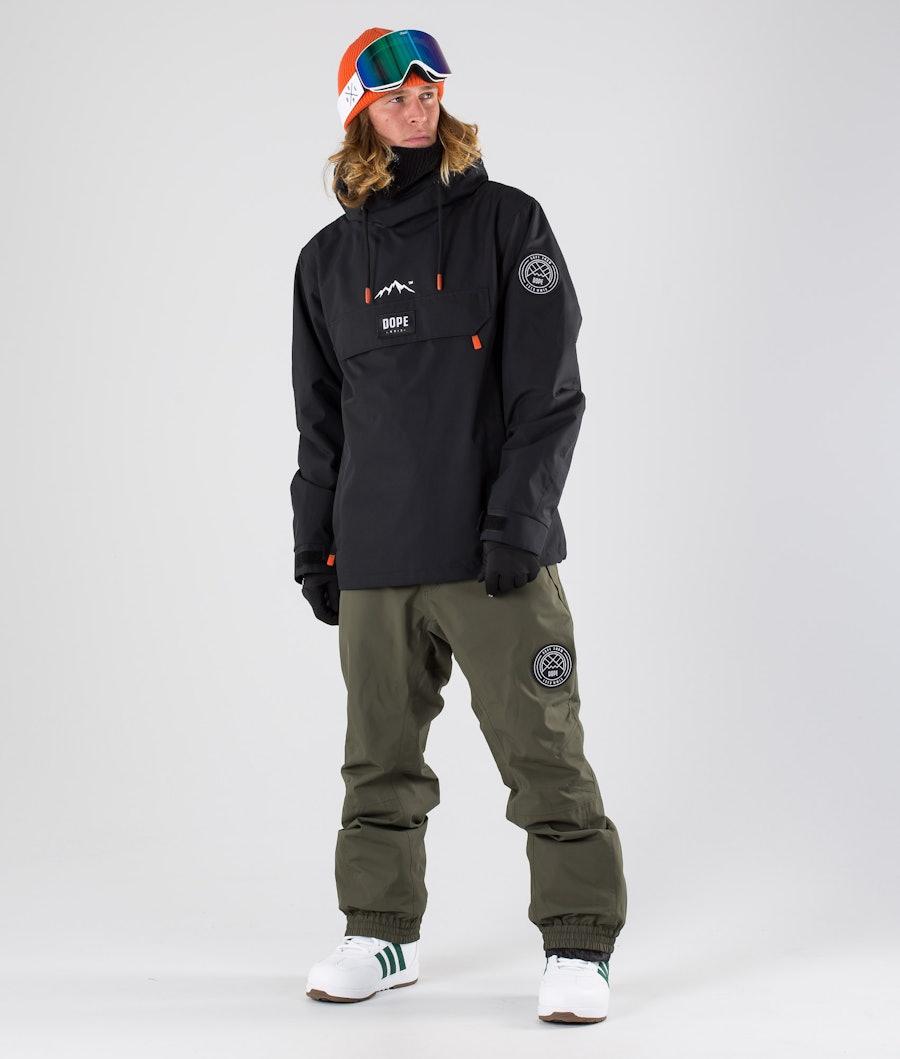 Dope Blizzard Snowboardjakke Black