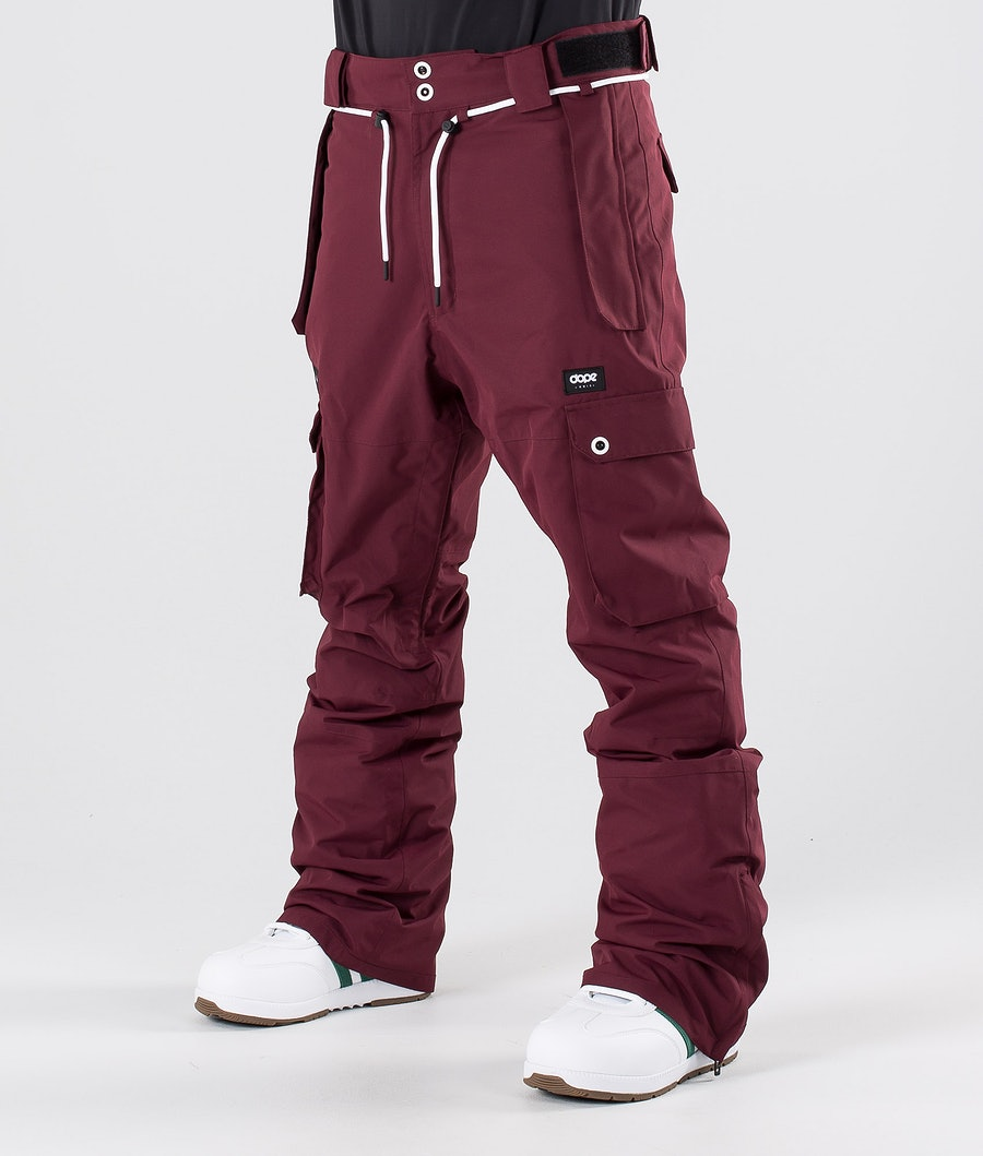 Dope Iconic Pantalon de Snowboard Burgundy