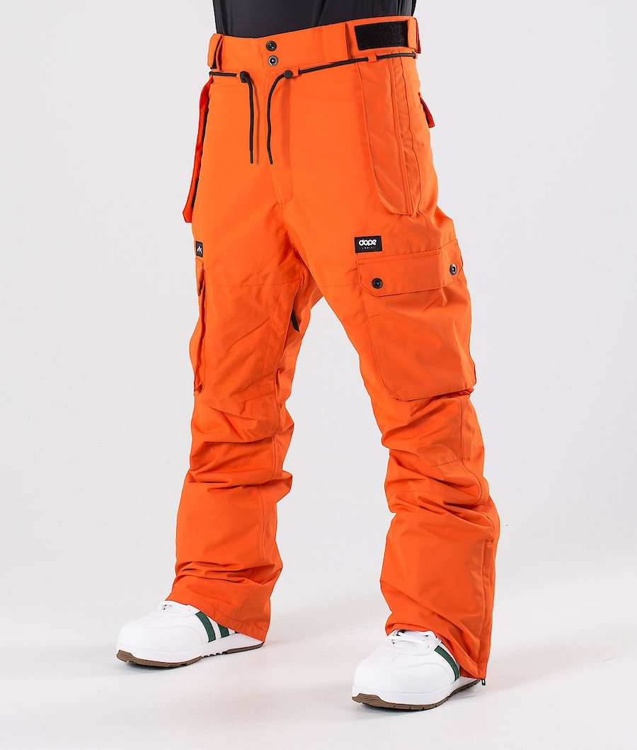 Dope Iconic Snow Pants Orange