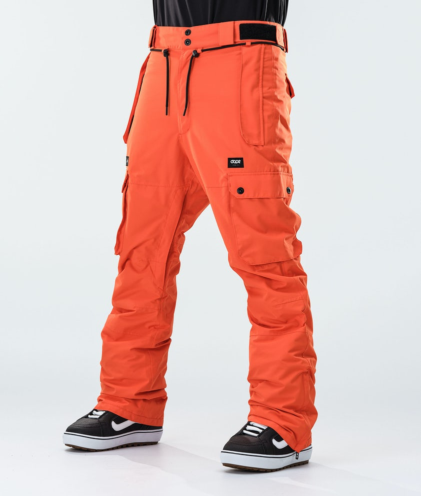 Dope Iconic Snowboard Pants Orange