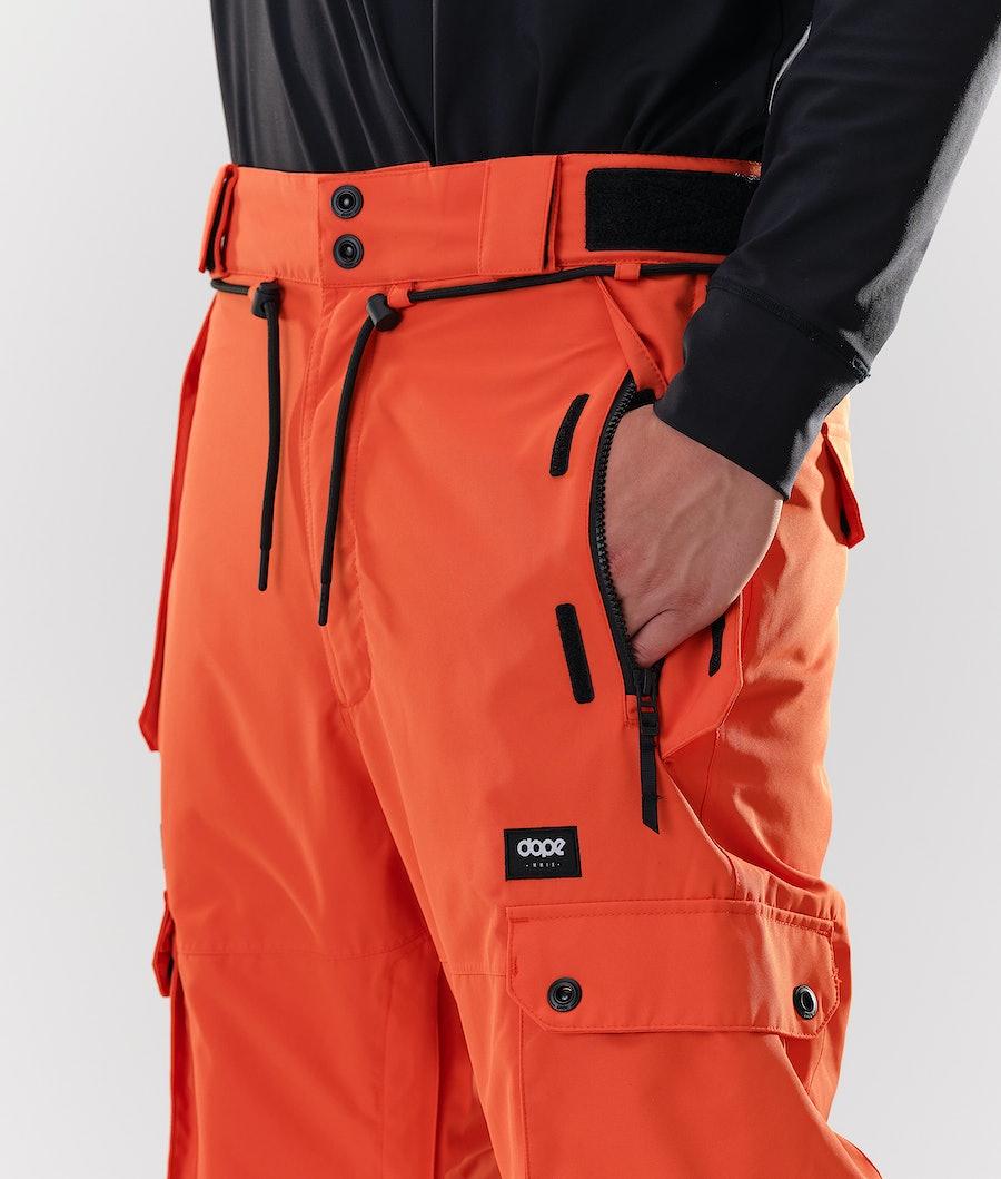 Dope Iconic Snowboardbyxa Orange