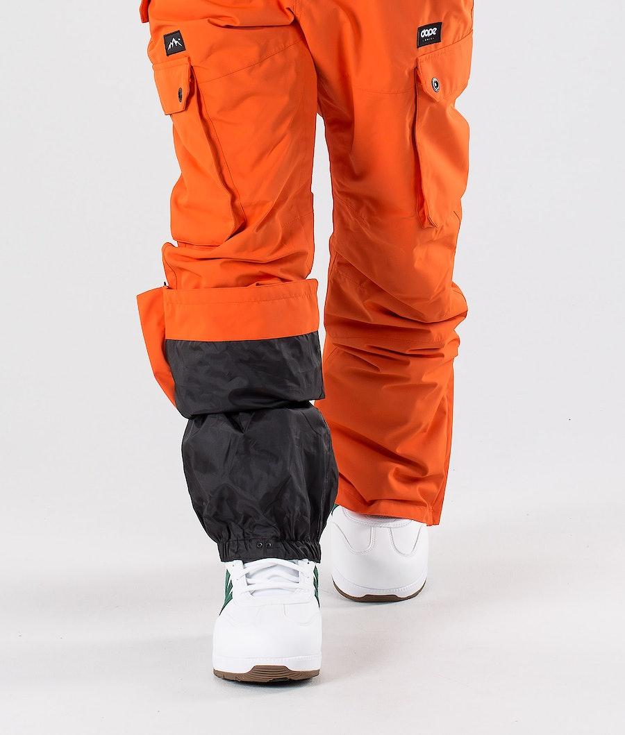 Dope Iconic Snowboardbukse Orange