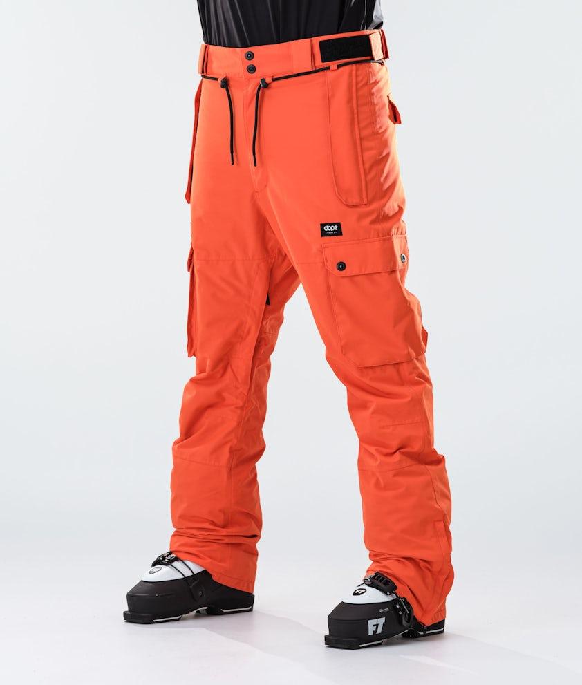 Dope Iconic Ski Pants Orange