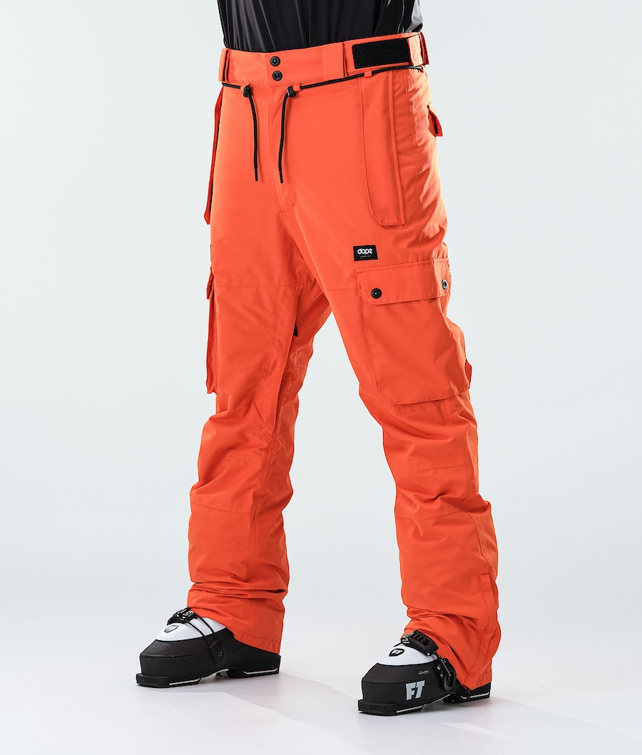 Dope Iconic Skihose Orange