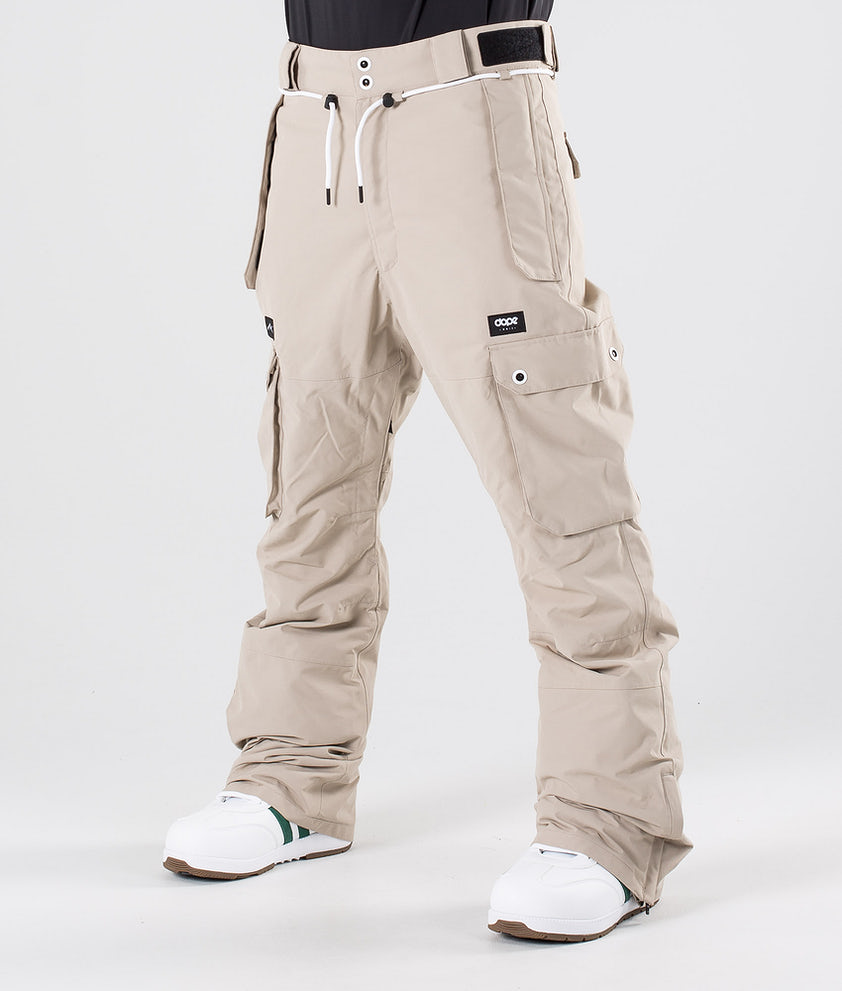 Dope Iconic Snow Pants Sand