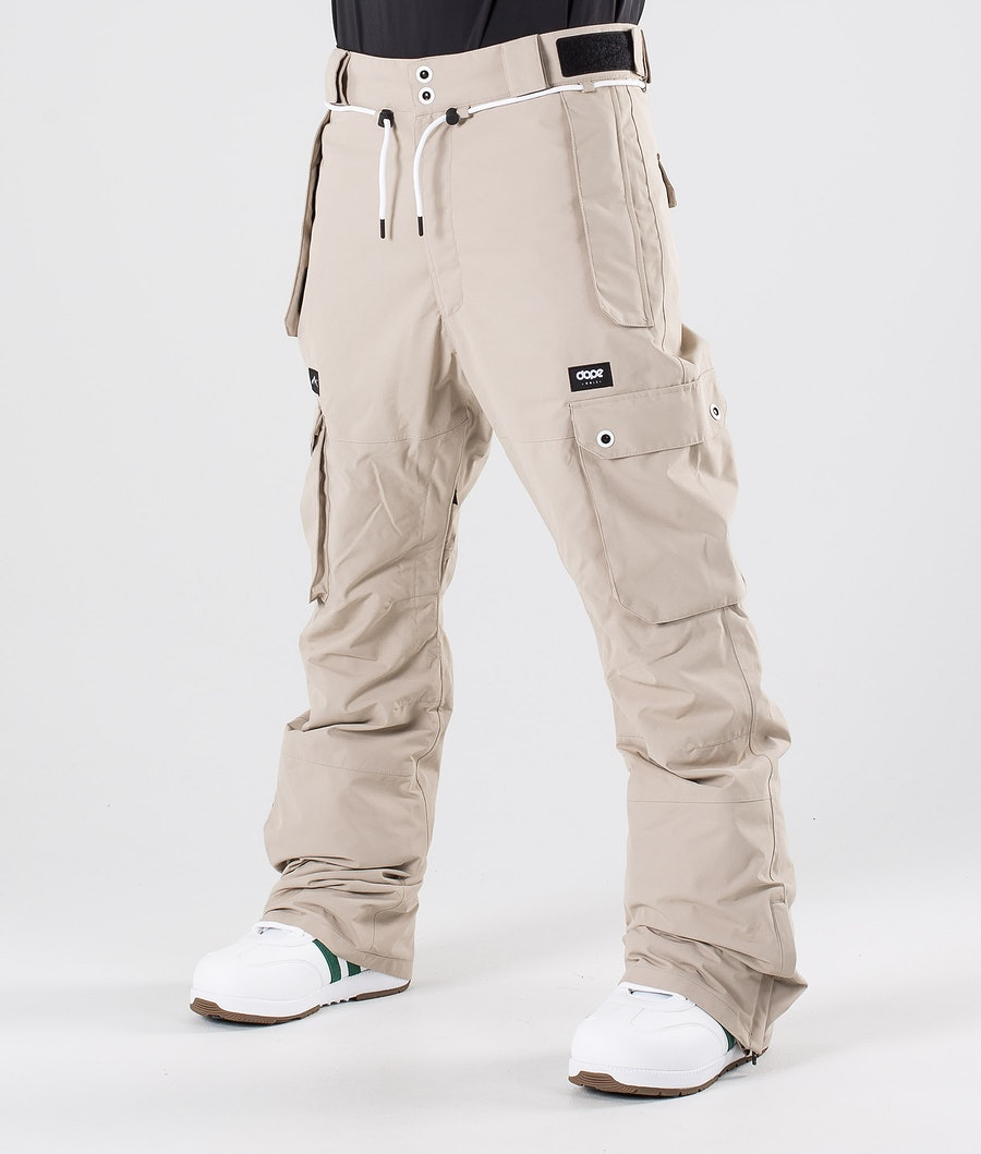 Dope Iconic Snowboard Pants Sand