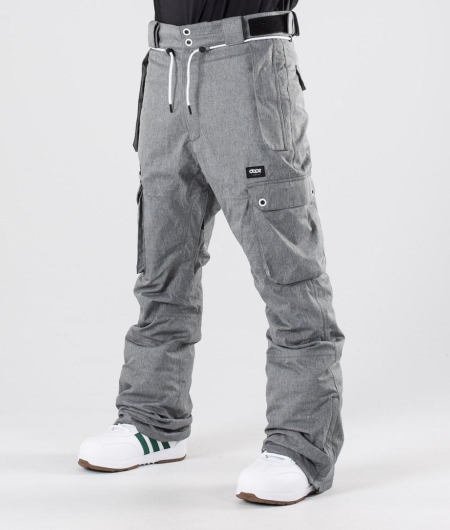 Dope Iconic Snow Pants Grey Melange