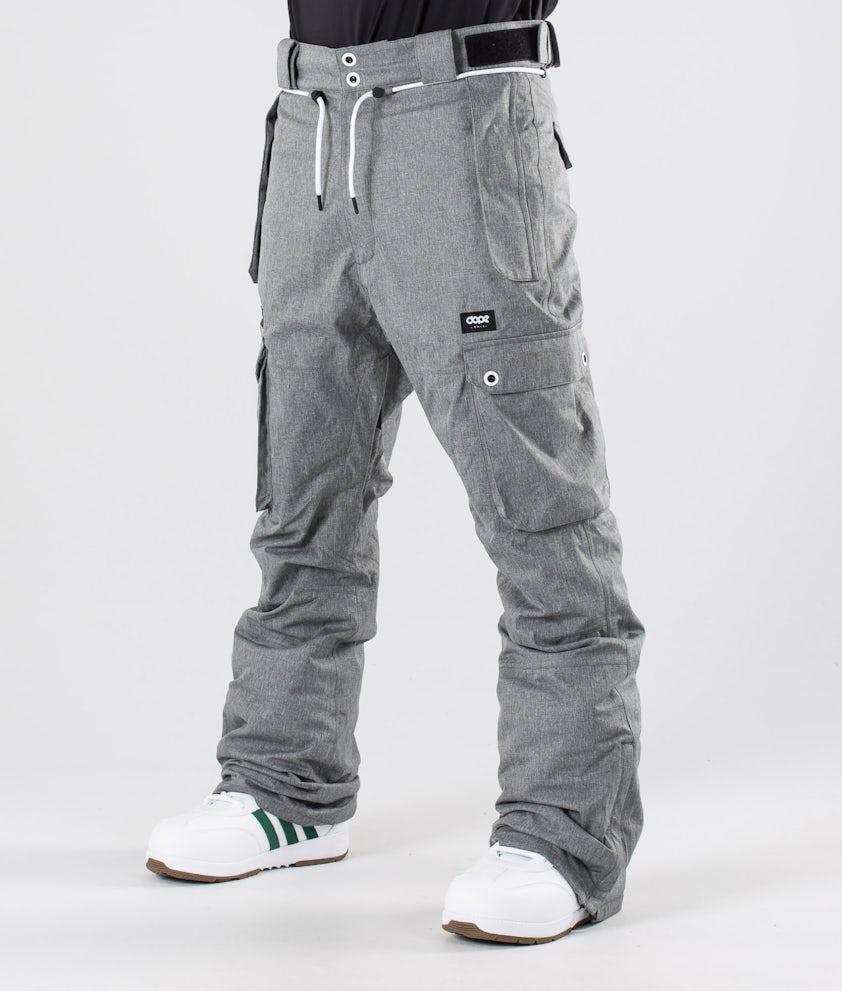 Dope Iconic Pantaloni da snowboard Grey Melange