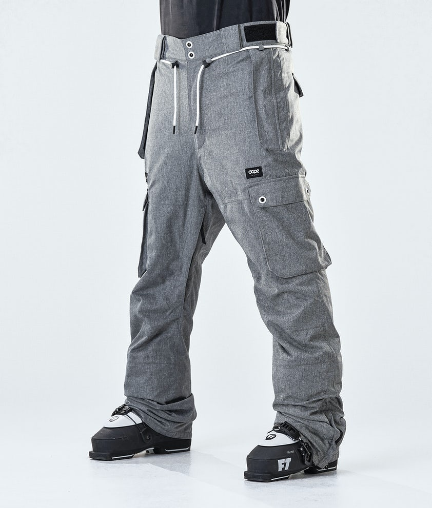Dope Iconic Ski Pants Grey Melange