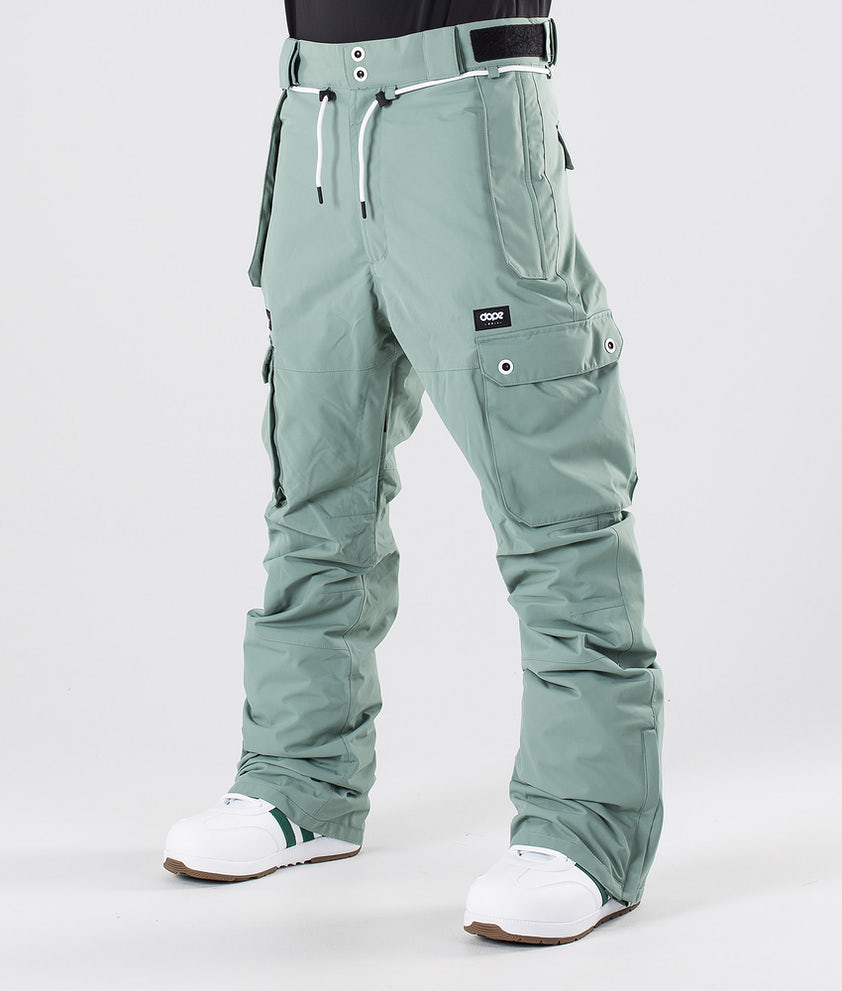 Dope Iconic Snowboardbukse Faded Green