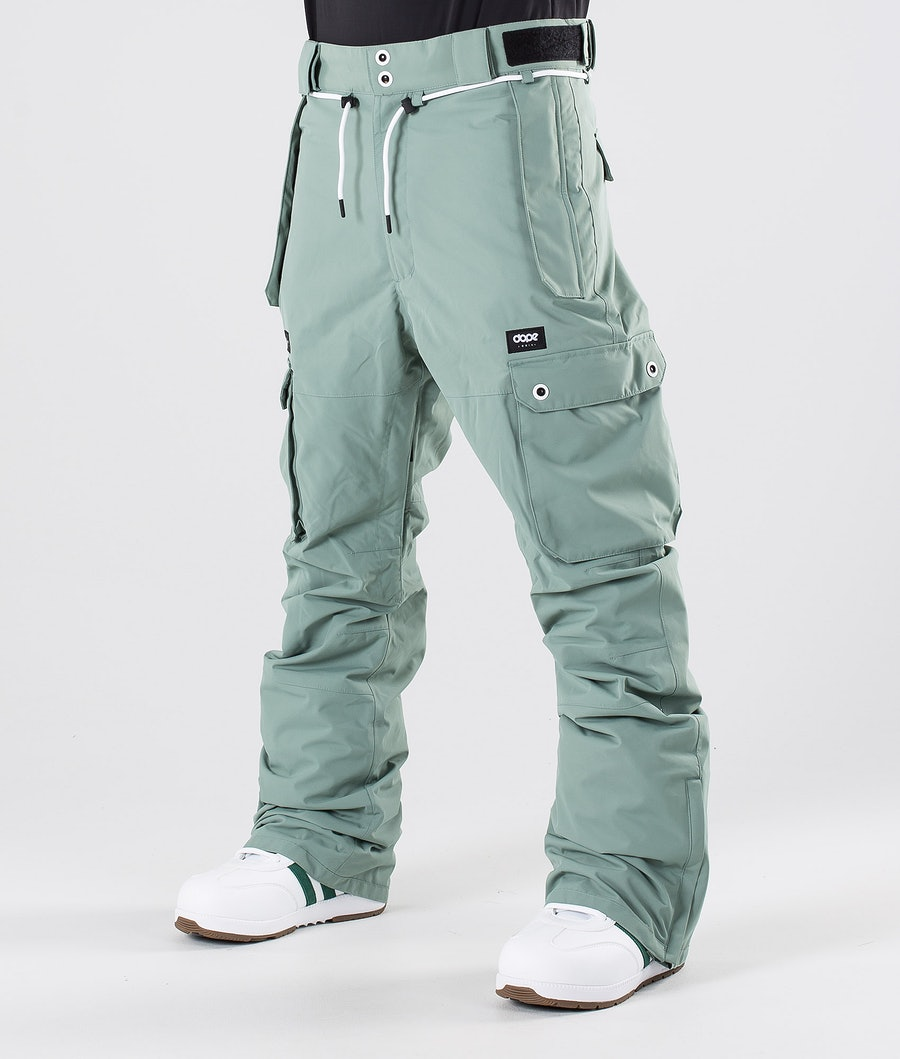 Dope Iconic Pantaloni da snowboard Faded Green