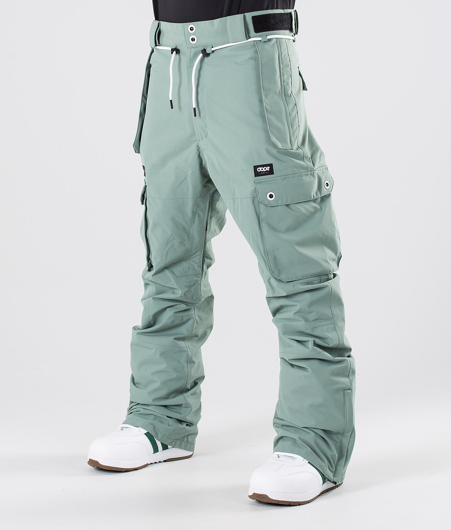 Dope Iconic Snowboardbyxa Faded Green