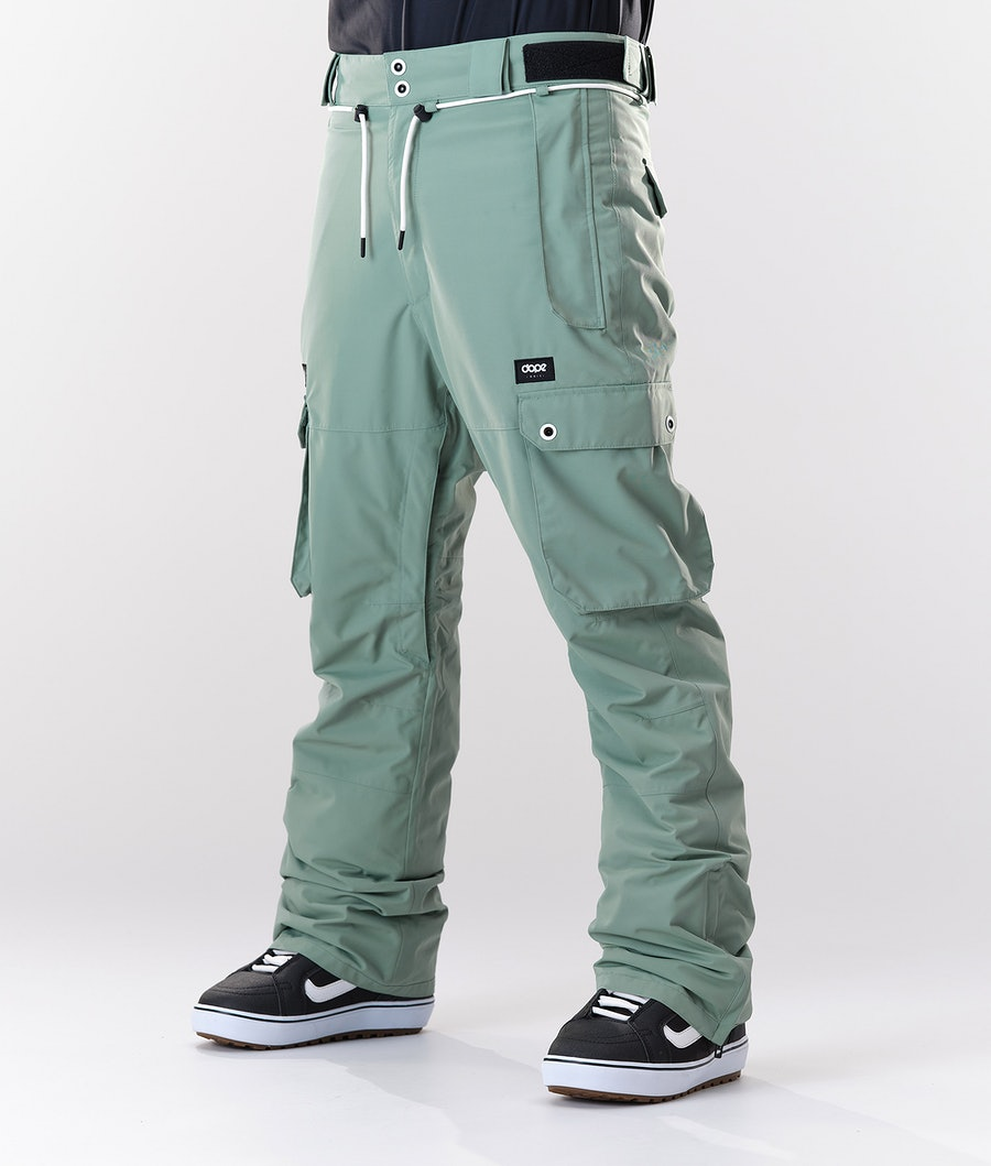 Dope Iconic Snow Pants Faded Green