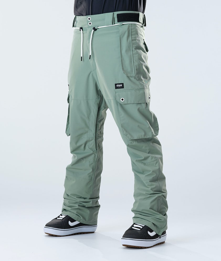 Dope Iconic Snowboardhose Faded Green