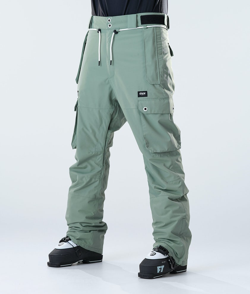 Dope Iconic Ski Pants Faded Green