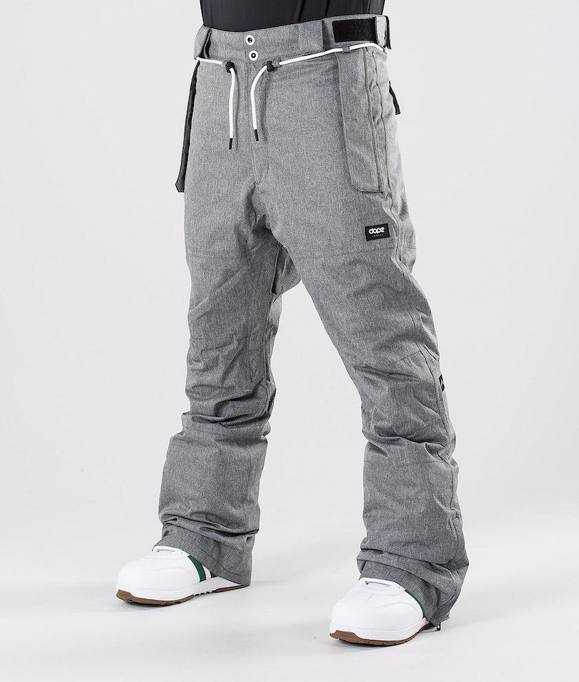 Dope Iconic NP Snowboardbukse Grey Melange